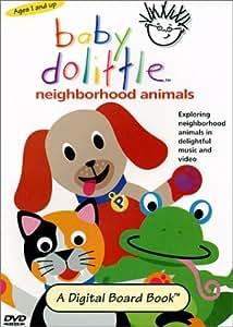 amazoncom baby dolittle neighborhood animals baby