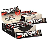 NEOH Low Carb Protein/Candy Bar - Keto, Low Sugar (1g) - Chocolate Crunch (2 Packs of 12)