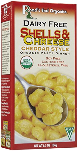 ROADS END ORGANICS Organic Dairy Free Mac and Cheese, 6.5 OZ by Road's End Organics