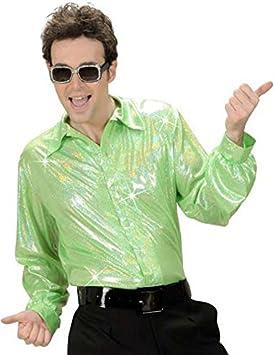 70 Disco purpurina Camisa verde claro: Amazon.es: Juguetes y ...