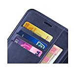 RK Seller Flip Cover Xiaomi Realme 8 5G PU Leather Vintage Case with Card Holder and Magnetic Stand-(Blue)(Shockproof)
