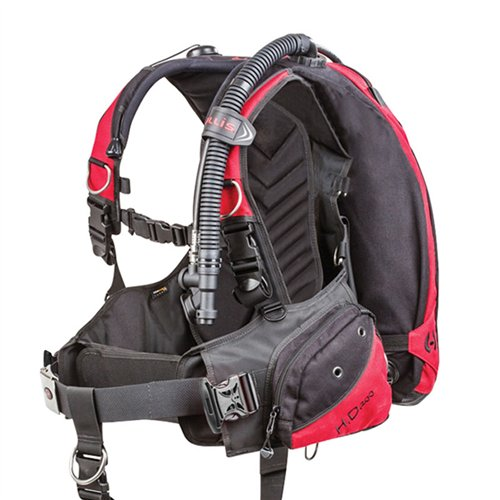 Hollis HD200 BC/BCD Weight Integrated Scuba Diving Buoyancy Compensator (X-Large)