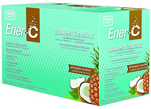 Ener C Gluten Pineapple Coconut Packets product image