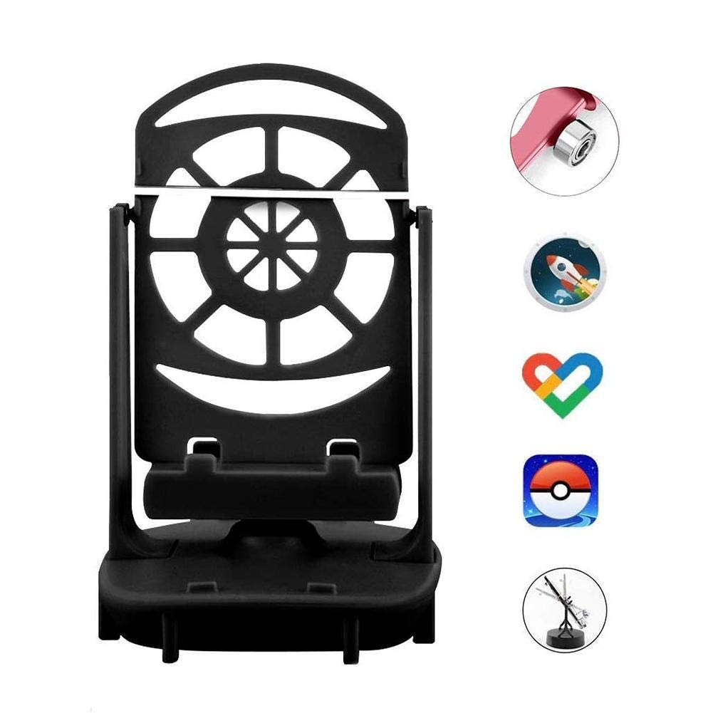 following Steps Counter Phone Swing Desk Toys Rocker Mobile Phone Stands Mounts Swing Wiggler Mute Cellphone Pedometer Steps Earning Device Wonderfully