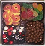 Scott's Cakes Large 4-Pack Chocolate Peanuts, Peach Rings, Pectin Fruit Gels, & Licorice Mix