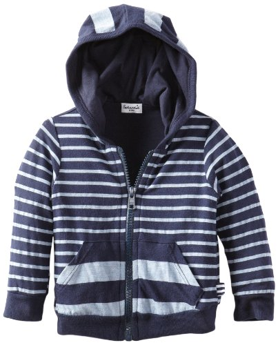 UPC 886937802074, Splendid Littles Baby Boys' Striped Zip Hooded Sweatshirt, Navy, 12 18