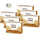 Avena Grisi Natural Oat Soap Balancing, 3.5 oz ( Pack of 6)