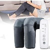Leg Massager,Elikliv Relaxation Massager Air Compression with Heat,Calf Feet Thigh Massage, 3 Intensities 2 Modes 2…
