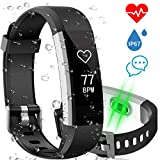 Aneken Fitness Tracker Watch Activity Tracker with Heart Rate Sleep Monitor IP67 Waterproof Smart Bracelet Pedometer Wristband Smart Watch for Kids Women and Men, Android & iOS Smart Phones