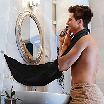 Beard Apron Cape Richoose Beard Cape Shaving Mirror Suction Cups Let Your  Bathroom Keep Clean. Amazon com  Beard Apron Cape Richoose Beard Cape Shaving Mirror
