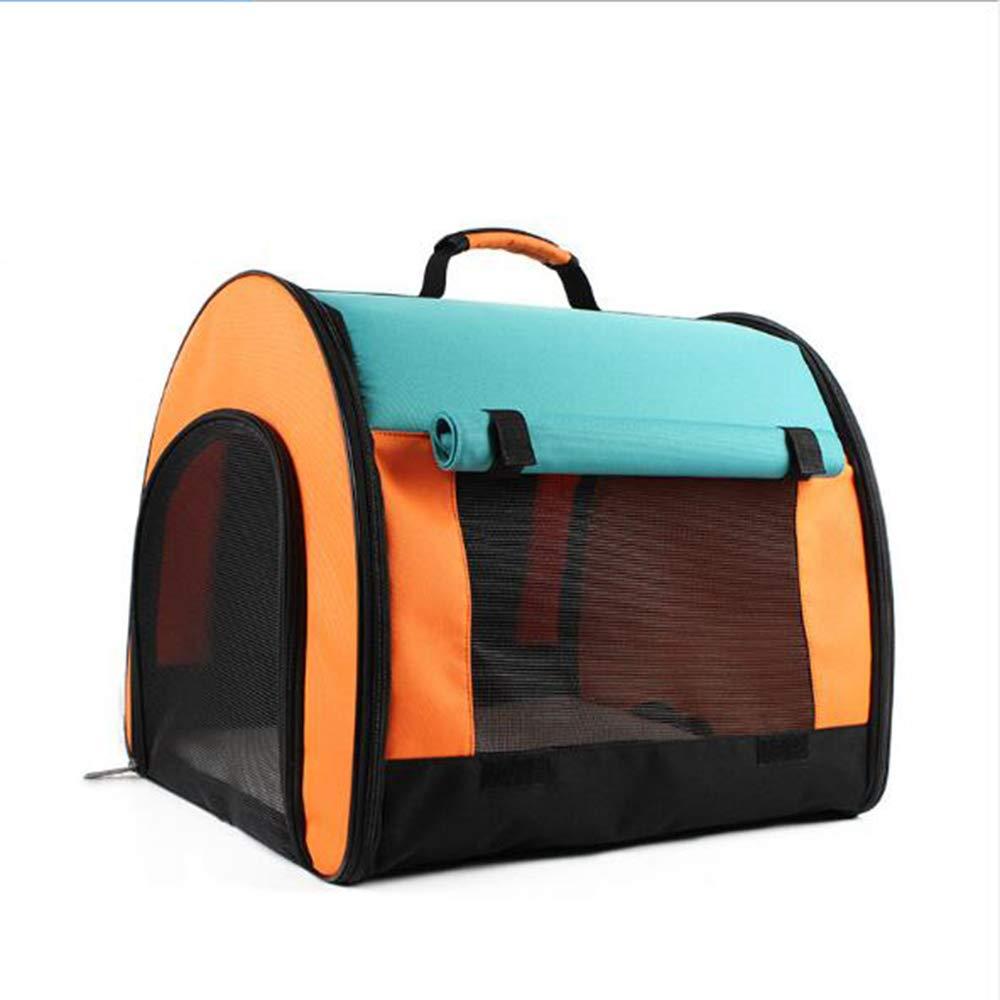 DNDZSW Backpack pet out bag foldable cat dog backpack dog out portable dog bag cat cage