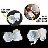 Pill Crusher, Grinder, Cutter/Splitter Cups by