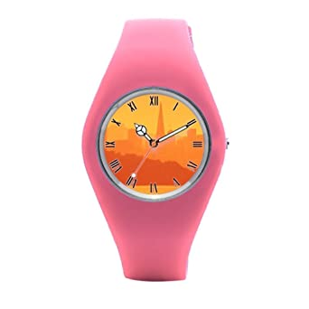 Amazon.com: TimetoShine Wrist Watch Men Sea Scenics Mens ...