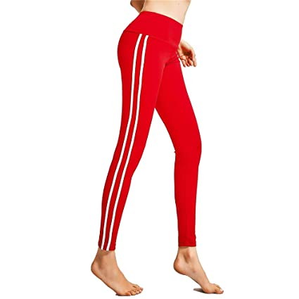 Amazon.com: High Waist Leggings Yoga Pants Womens Running ...