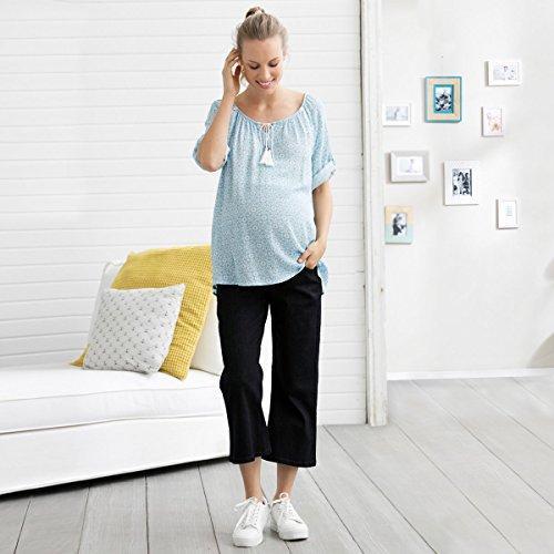 Blue Pregnancy Pantalones Denim De Jean 2hearts wqxx84zOn