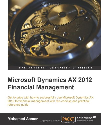 Microsoft Dynamics AX 2012 Financial Management Front Cover