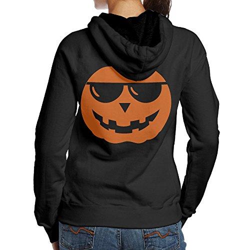 Duola Custom Halloween Women's Long Sleeve Sweater S Black