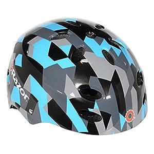 Razor V-17 Youth Multi-Sport Helmet, Geo Helmet