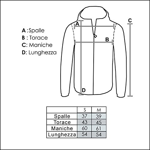 Girogama, chaleco Bomber sintética, chaqueta corta–Mujer 4299GB negro