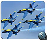 Blue Angels Aircraft Mouse Pad Anti Slip Desktop Mouse Pad Gaming Mouse pad