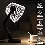 3D Wood Home Decor Office Gadget Gift Lamp (MT302)