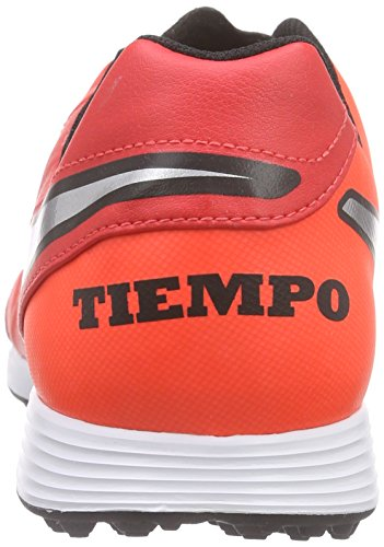 Nike II clair de en total Genio entraîneur football TF pour argent cuir pourpre Tiempo pourpre métallisé 1rEqwxg1