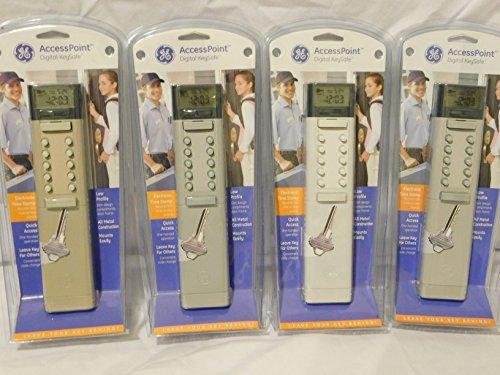 - GE Security 001872 Digital Designer Key Safe with Electronic Time Stamp, Gray