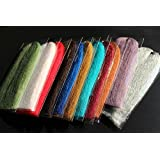 11 Packs 11 Colors Synthetic EP Silky Fibers 3D Soft Fluffy Fibre Minnow Water Shed Fly Fishing Tying Materials