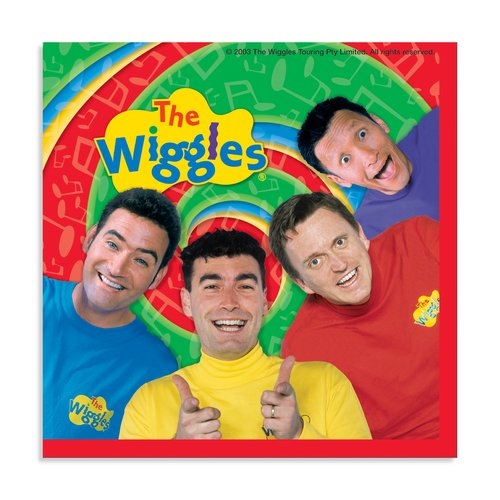 UPC 011179193011, The Wiggles Beverage Napkins - 16 Count