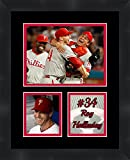 Roy Halladay Philadelphia Phillies Pitcher , 11 x 14 Matted Framed Photos Ready to hang