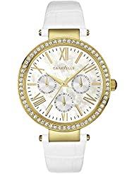 Caravelle New York Womens 44N104 Crystal Strap Bracelet
