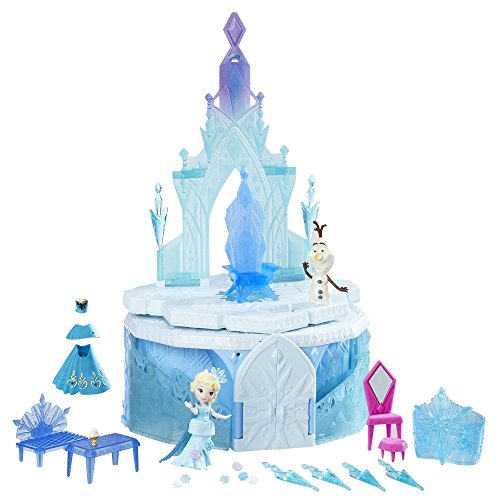 Disney Frozen Little Kingdom Elsa's Magical Rising Castle ()