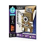 Makedo Box Props Faces Monsters Building Kit