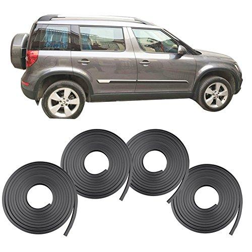 "Oyeeice Universal Fender Flares Flexible 4Pcs 59""x2"" Wheel Eyebrow Protector for cars,trucks,SUVs"