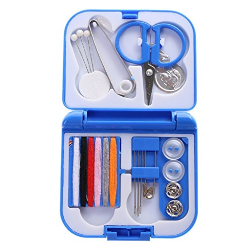 (BARGAIN HOUSE Color: random color /Mini sewing set for portable traveling Sewing set needle thread DIY home)