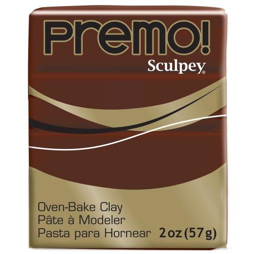 (Premo! Polymer Clay 2oz Burnt Umber)