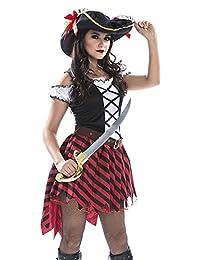 Palamon Women's Pirate Captain Costume