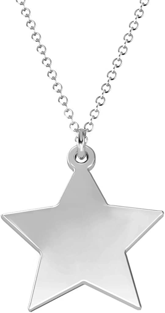 14K Gold Youre My Lucky Star Necklace by JEWLR