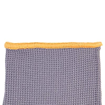 AmazonBasics Latex Coated Gloves, Nylon Liner Fiber, Grey, 12-Pair
