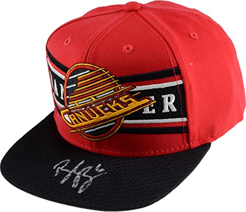 Brock Boeser Vancouver Canucks Autographed Throwback Logo Cap - Limited Edition of 6 - Fanatics Authentic (Vancouver Canucks Logos)
