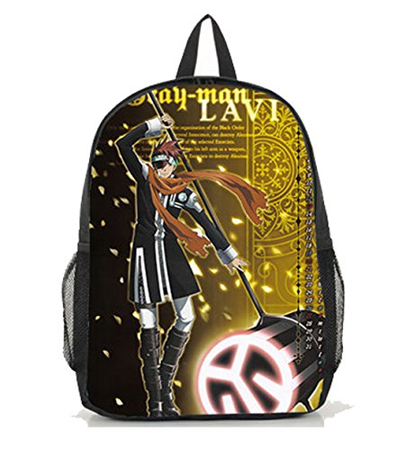 Dreamcosplay D.Gray-man Lavi Black Backpack School Bag (D Gray Man Lavi Cosplay Costumes)