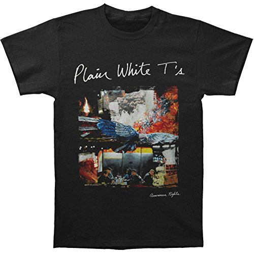 Plain White Ts Men's Album T-shirt Small Black