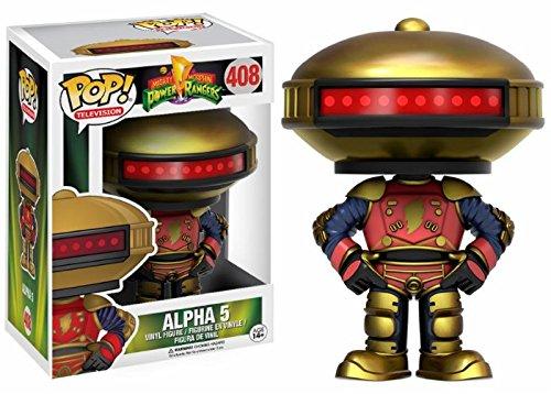 Funko Pop! Television: Mighty Morphin Power Rangers - Alpha 5 (Walmart) Exclusive Vinyl Figure # 408]()
