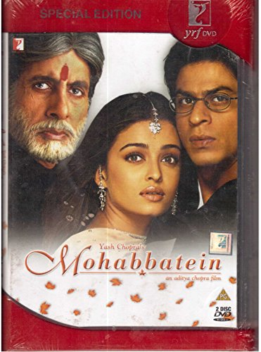 - Best of Aditya Chopra - Dilwale Dulhania Le Jayenge - Mohabbatein - 2 DVD Pack - A Collection of Everlasting Love Stories