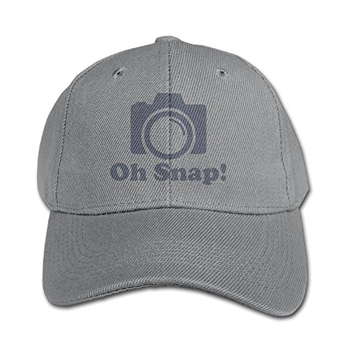 Price comparison product image Photographer Camera Oh Snap Kid's Adjustable Hat Peaked Baseball Hat / Cap Four Seasons