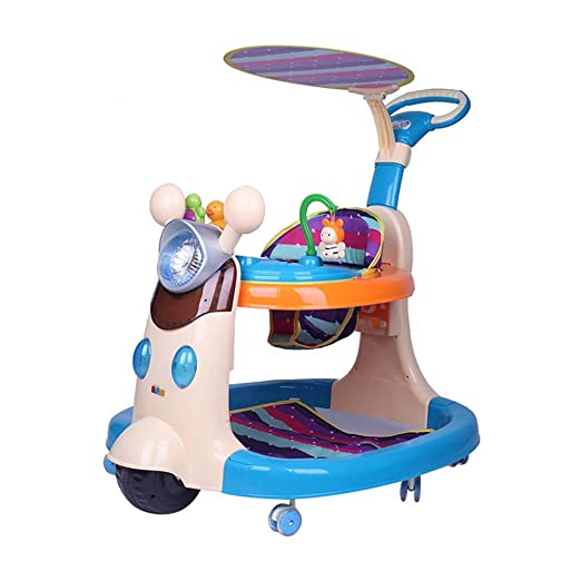 Baby Walkers Empujar Andador para bebé, Plegable y Regulable en ...