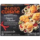 Nestle Stouffers Lean Cuisine Entree Sesame Chicken, 9 Ounce -- 12 per case.