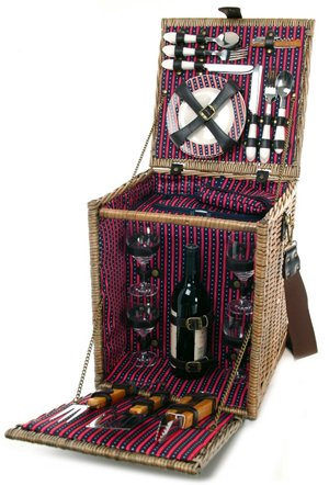 Gourmet BBQ Picnic Basket - Picnic and Beyond