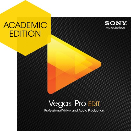 Sony Vegas Pro 12 Edit - Academic Version [Download] by Sony
