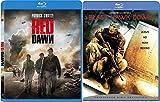 Black Hawk Down & Red Dawn War 2 Pack Military War Movie Action Set
